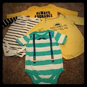 6 month Onesie Lot Jumping Beans